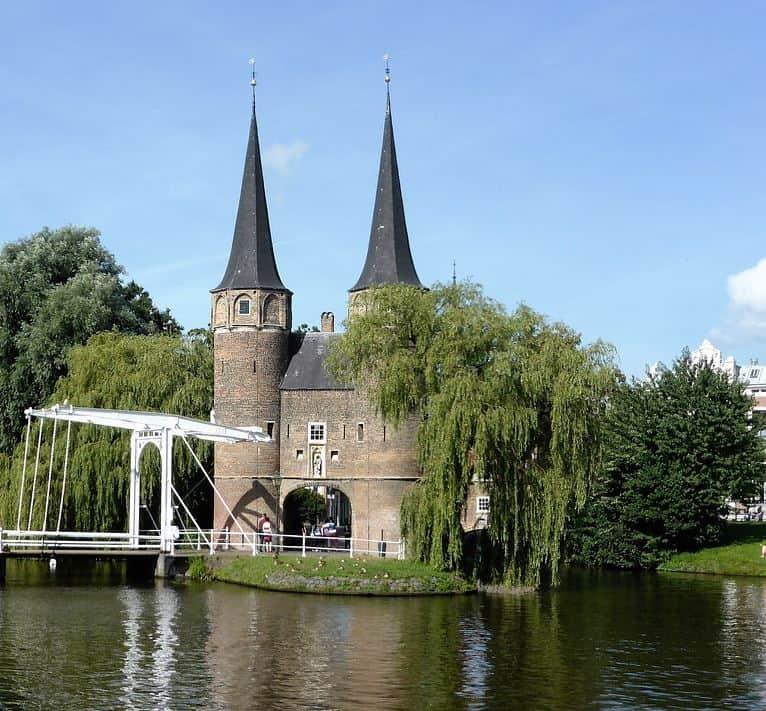 Oostpoort Delft stadspoort