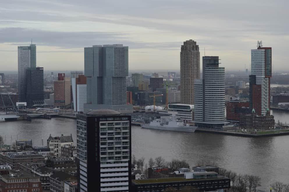 overnachten op de Euromast Rotterdam