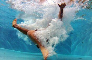 zwembad zwemplezier